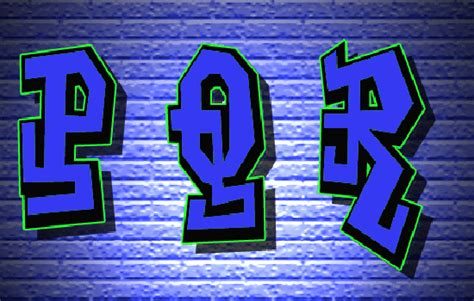 Letras De Graffiti Alphabet A