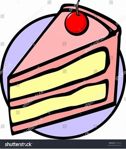 Cake Piece Clipart Slice Clip Idiom Shutterstock