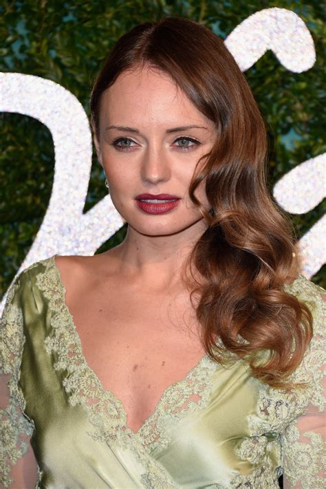 laura haddock side sweep hair lookbook stylebistro