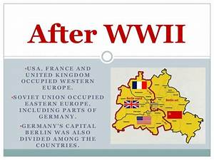The Columbian Exchange Ss6 H7b Cold War And German Reunification