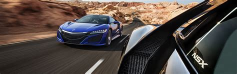 acura nsx car vehicle road motion blur dual monitors
