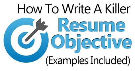 How To Write A Killer Resume by 25 Einzigartige Career Objectives For Resume Ideen Auf