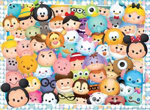 Tsum Tsum Disney Cartoon