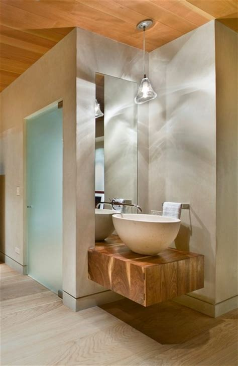 Modern Bathroom In Valley by Vail Valley Mountain Contemporary Modern Bathroom