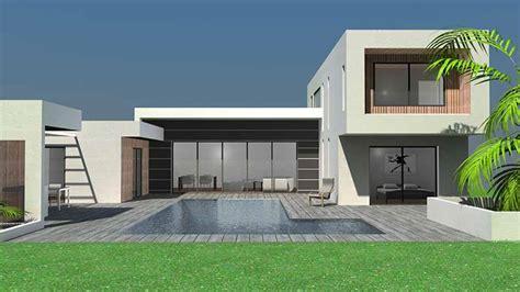 maison d architecte contemporaine en ossature bois 224 toulouse