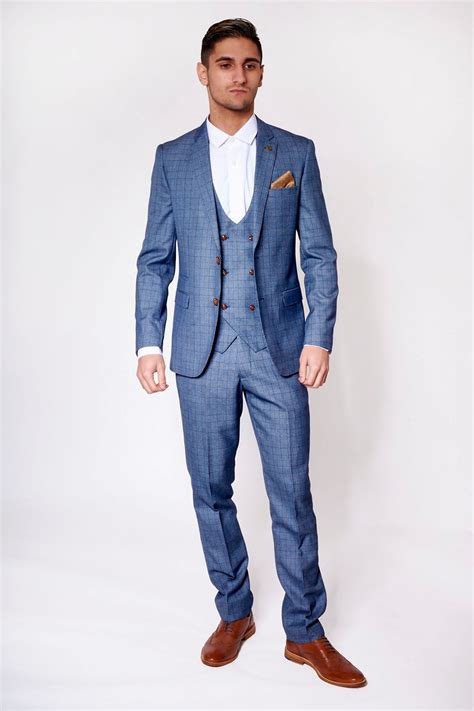 light blue suit marc darcy george light blue 3 suit with
