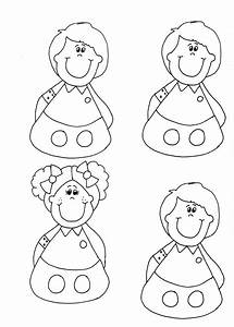 8 best images of people puppet printable template finger With paper finger puppets templates