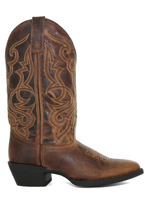 womens laredo  maddie western brown
