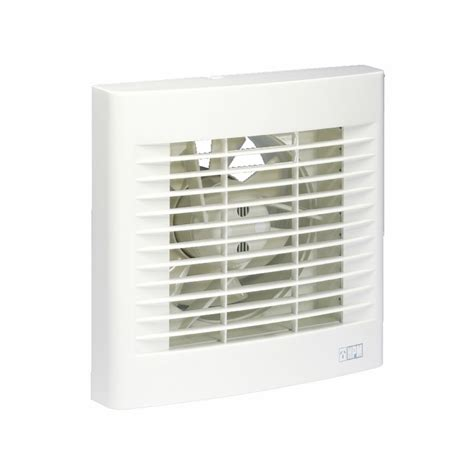 Exhaust Fans For Bathrooms Bunnings by Hpm Wall Exhaust Fan With Auto Shutters 150mm White