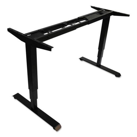 alera 174 3 stage electric adjustable table base w memory