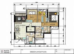 Dash U0026 39 In Interior  Hand Drawn Designs Floor Plan Layout