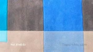 Tapis Bleu Et Gris : tapis intersection gris et bleu 4140 53 par arte espina vendu sur tapis youtube ~ Dode.kayakingforconservation.com Idées de Décoration