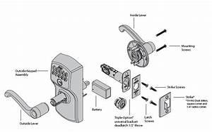 Door Handle  Diagram Of Door Knob Parts  Diagram Of Door Knob With Regard To Diagram Of Door