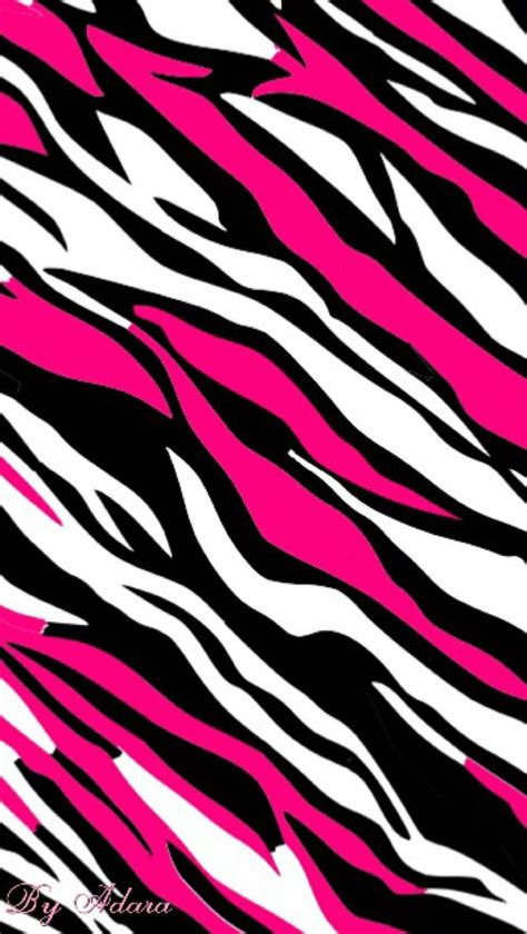 Metallic Animal Print Wallpaper - pink zebra wallpaper wallpapersafari