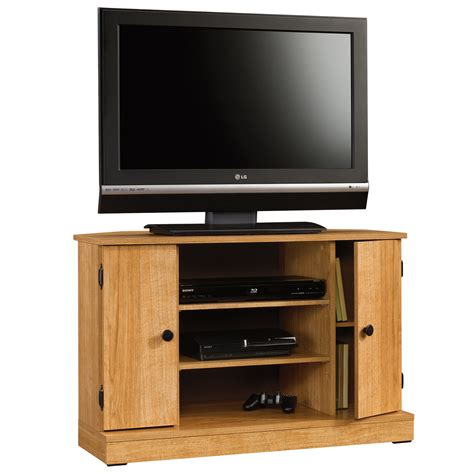 Beginnings  Corner Tv Stand  412996  Sauder. Stainless Steel Shower Pan. Lowes Shower Base. Travertine Coffee Table. Kitchen Sinks And Faucets. Floating Storage Cabinet. Bathtub Storage. Console Table Decor. Tufted Sectional