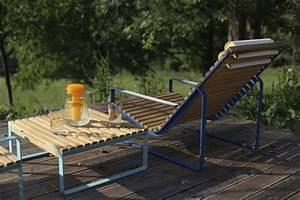 Table Basse Jardin Metal : table basse carr e de jardin pr va m tal acier de couleur et en bois massif seanroyale ~ Teatrodelosmanantiales.com Idées de Décoration