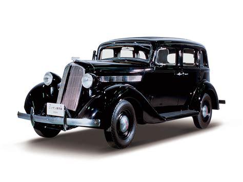 1938 Nissan Passenger Car. Until 1981, Two Different Car