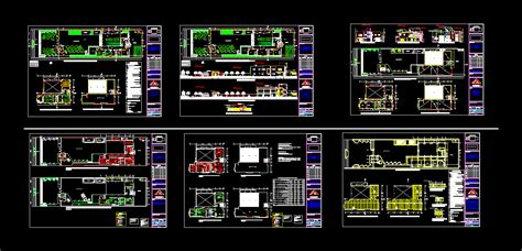 fire station  autocad  cad   mb