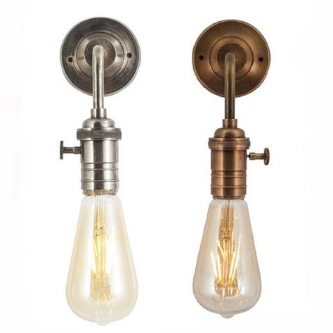 vintage edison bulb holder barn light wall sconce