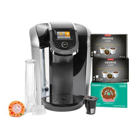 A pod coffee maker is a quick way to get your morning going. Keurig K425S Coffee Maker with 24 K-Cup Pods and Reusable K-Cup 2.0 Coffee Filter - Walmart.com