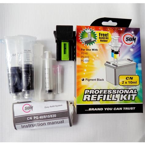sun tinta refill kit canon colour jual tinta sun refill kit canon black pg di lapak sun indonesia sunindonesia
