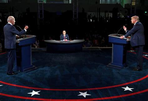 biden trump debate covid 2nd still against presidential donald joe president india suffers rediff oct second his mute feature button