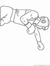 Boxe Kleurplaat Beroepen Coloriage Beroep Bokser Mewarn15 Coloringpages101 Ohbq sketch template