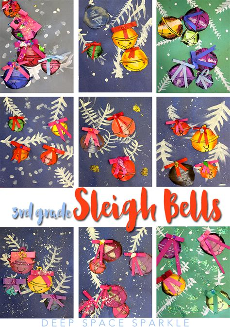 christmas art projects for middle schoolers sleigh bell project club ideas projects projects