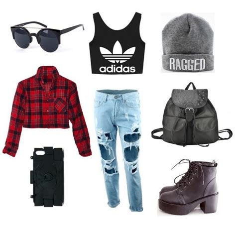Ripped Jeans and Crop Top Outfits with Adidas | Like Success