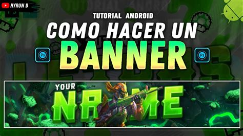Make your youtube channel professional with extremely cool character banner designs, free download and share. Como Hacer Un BANNER de FREE FIRE Desde ANDROID - Ps Touch ...