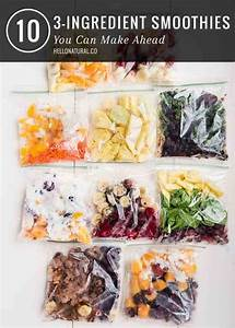 10 3-Ingredient Smoothies You Can Make Ahead | Hello Glow