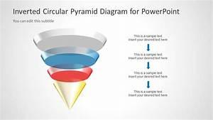 3d Circular Pyramid Diagram For Powerpoint