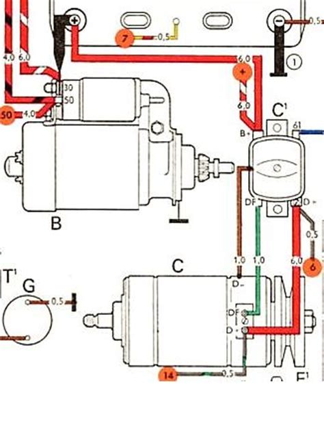 1965 Vw Starter Wiring Diagram by Vw T2 Starter Motor Impremedia Net