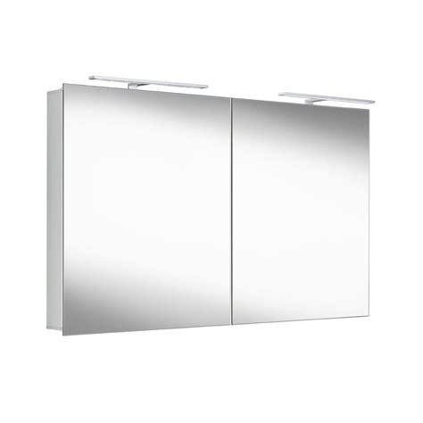 Armoire Et Miroir De Toilette Happy Avec Éclairage Led