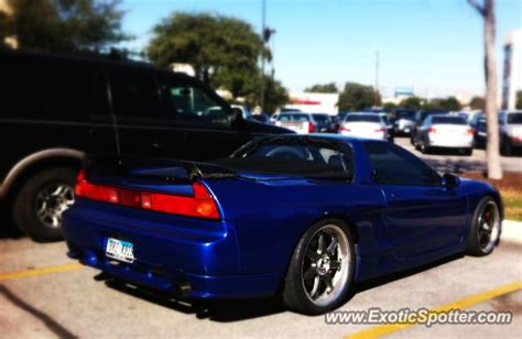 acura nsx spotted in san antonio texas on 12 16 2012