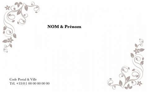 modèle carte de visite personnelle carte de visite particulier carte de visite grand format