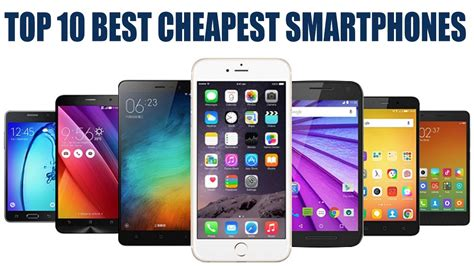 Top 10 Budget Smartphones 2017  Top 10 Best Budget