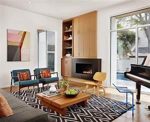 Mid century modern living room ideas to beautifully blend for Mid century modern living room furniture arrangement