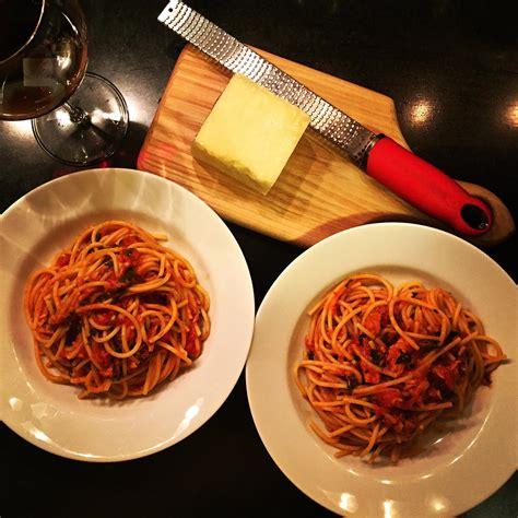 quick weeknight pasta  tuna dinner