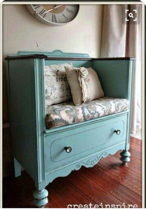 repurposed chest  drawersgenius crafty pinterest