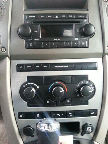 purchase   jeep commander auto starter heated