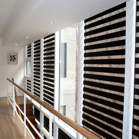 cloth louver window blinds double layer zebra blinds home