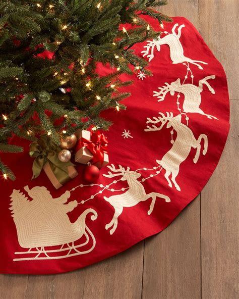 christmas tree skirts images  pinterest
