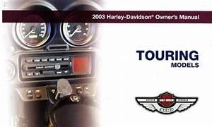 2003 Harley Davidson Touring Motorcycle Owners Manual