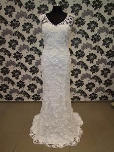 best wedding dress images on pinterest lace irish crochet With crochet lace wedding dress