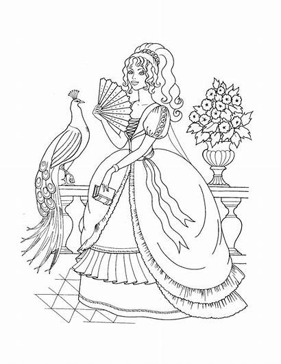 Princess Coloring Pages Printable