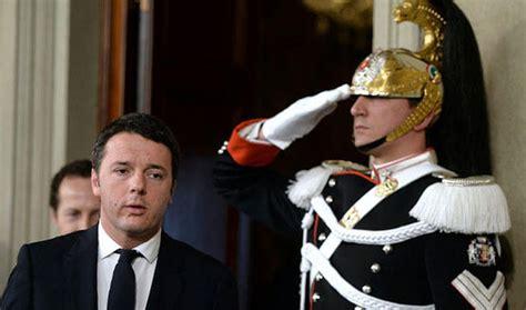 Consiglio Dei Ministri Renzi by Germania Critica Fotografia Di Renzi All Europa Dura