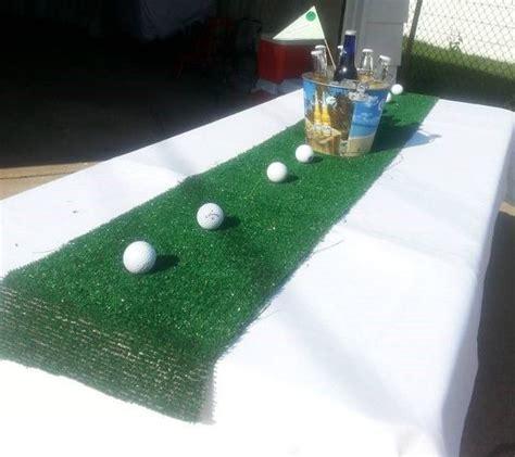 golf theme centerpiece retirement party golf party