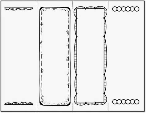 bookmark template  print activity shelter