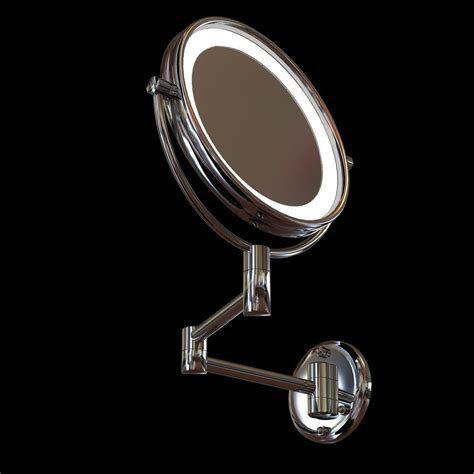 jerdon led lighted wall mounted mirror 3d model cgtrader